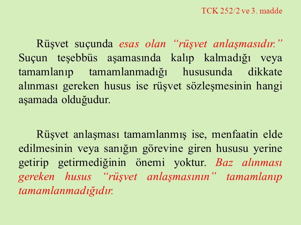 TCK 252/2 ve 3. madde