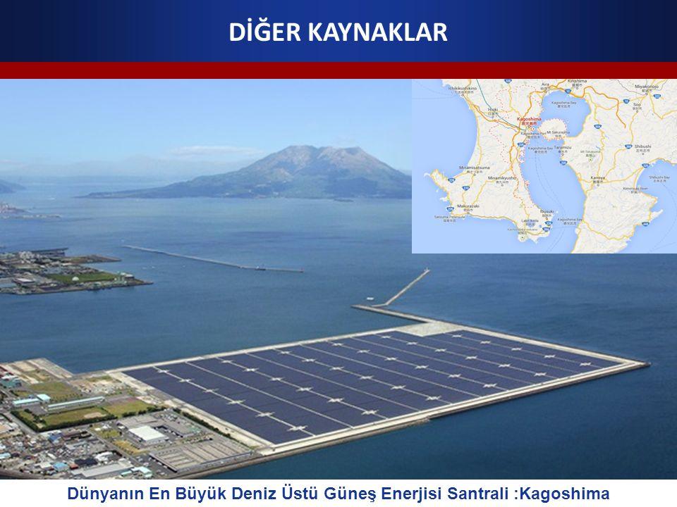 Dünyanın En Büyük Deniz Üstü Güneş Enerjisi Santrali :Kagoshima