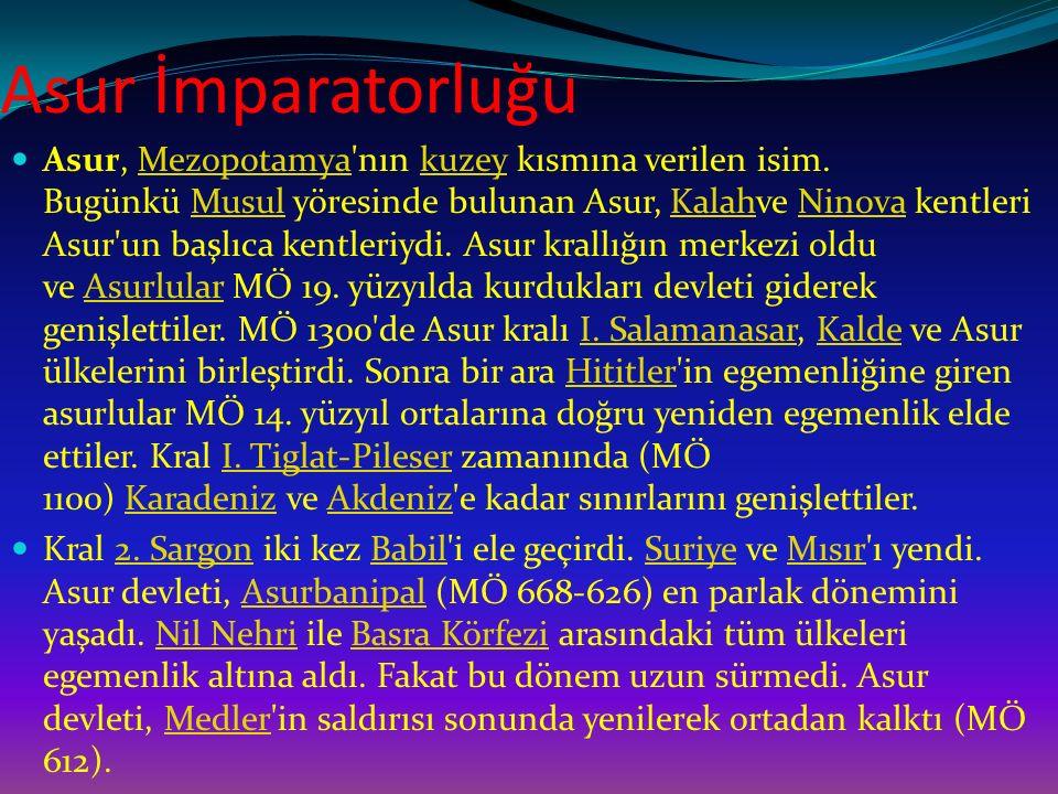 Asur İmparatorluğu