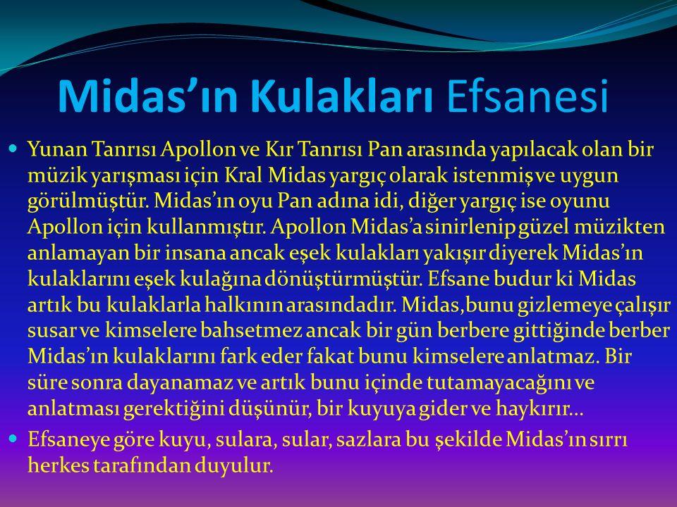 Midas'ın Kulakları Efsanesi