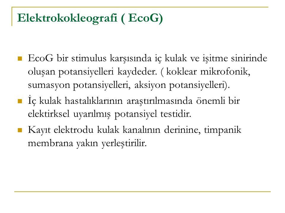 Elektrokokleografi ( EcoG)