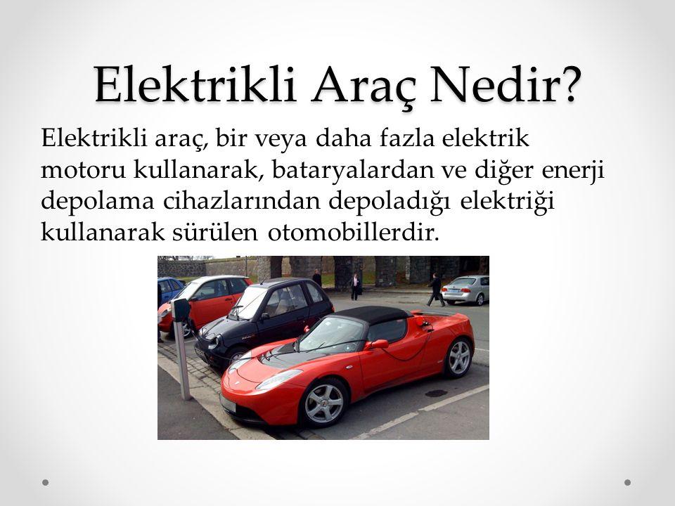 Elektrikli Araç Nedir