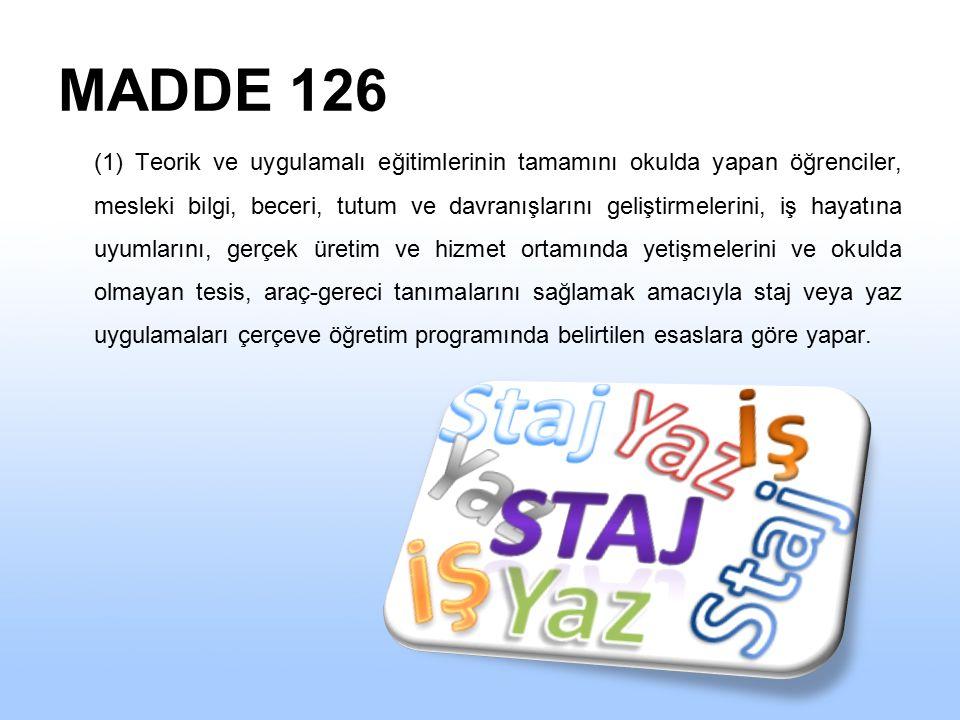 MADDE 126