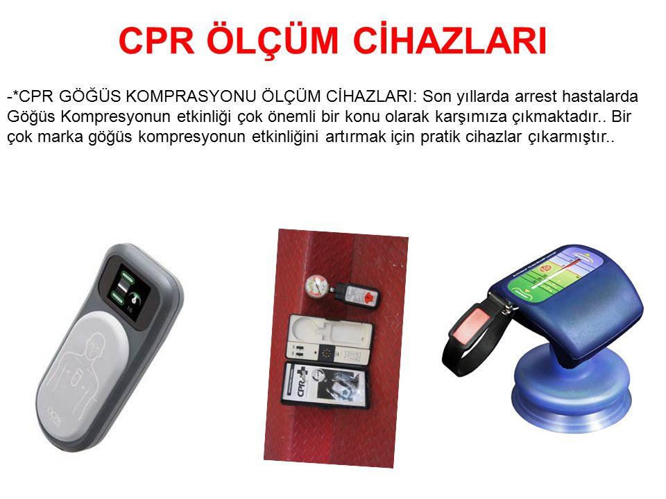 CPR ÖLÇÜM CİHAZLARI