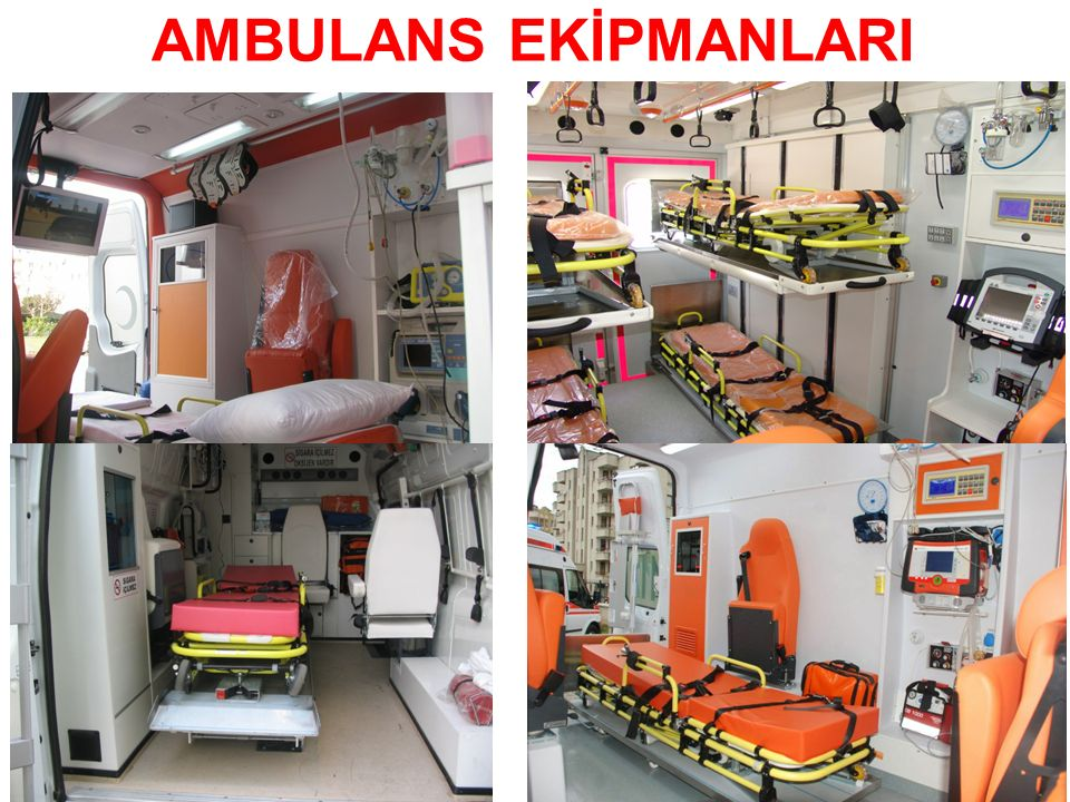 AMBULANS EKİPMANLARI