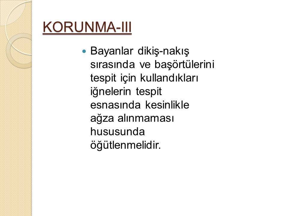 KORUNMA-III