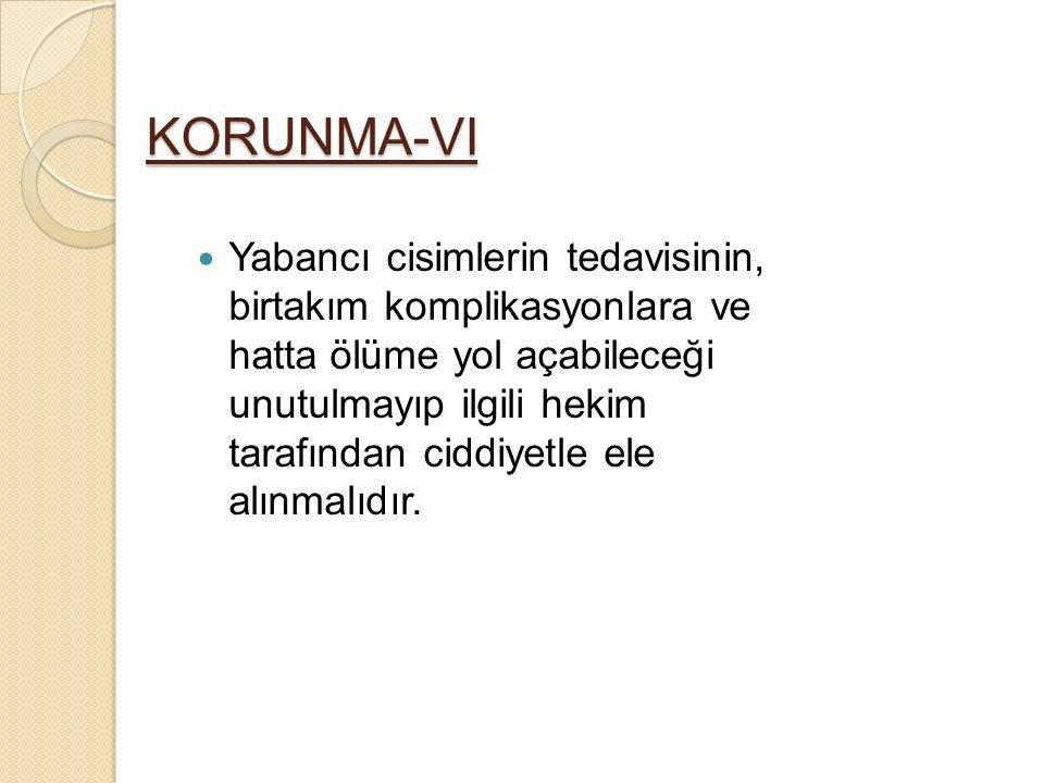 KORUNMA-VI