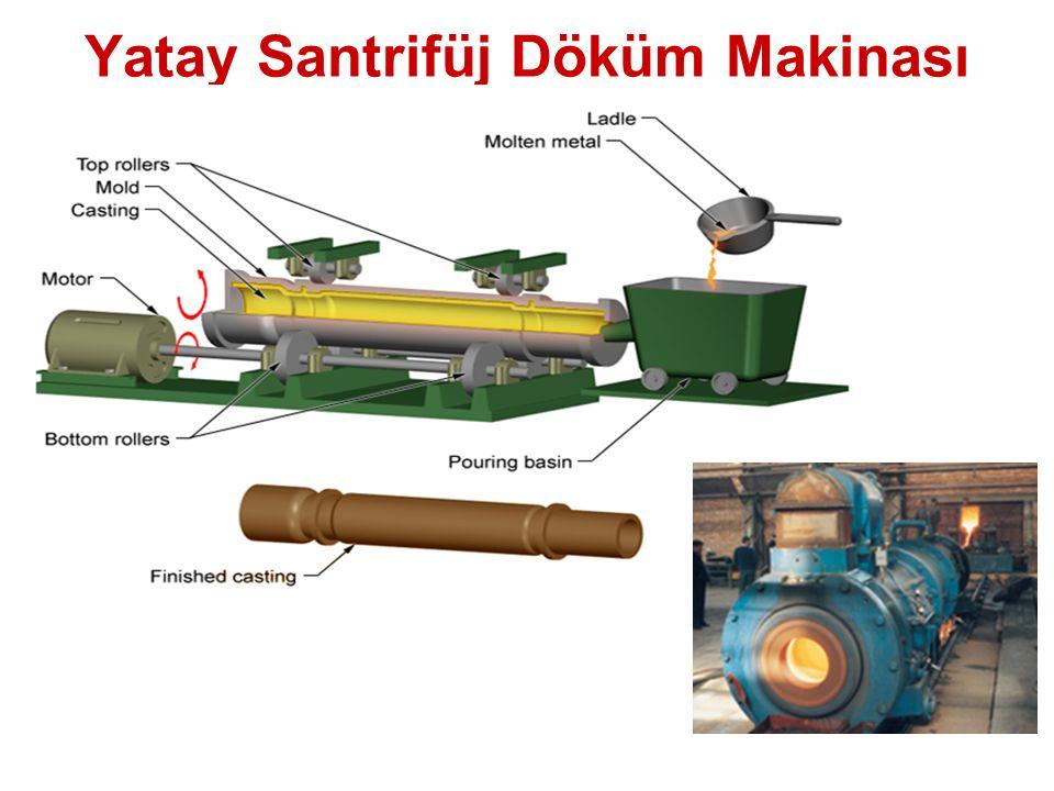 Yatay Santrifüj Döküm Makinası