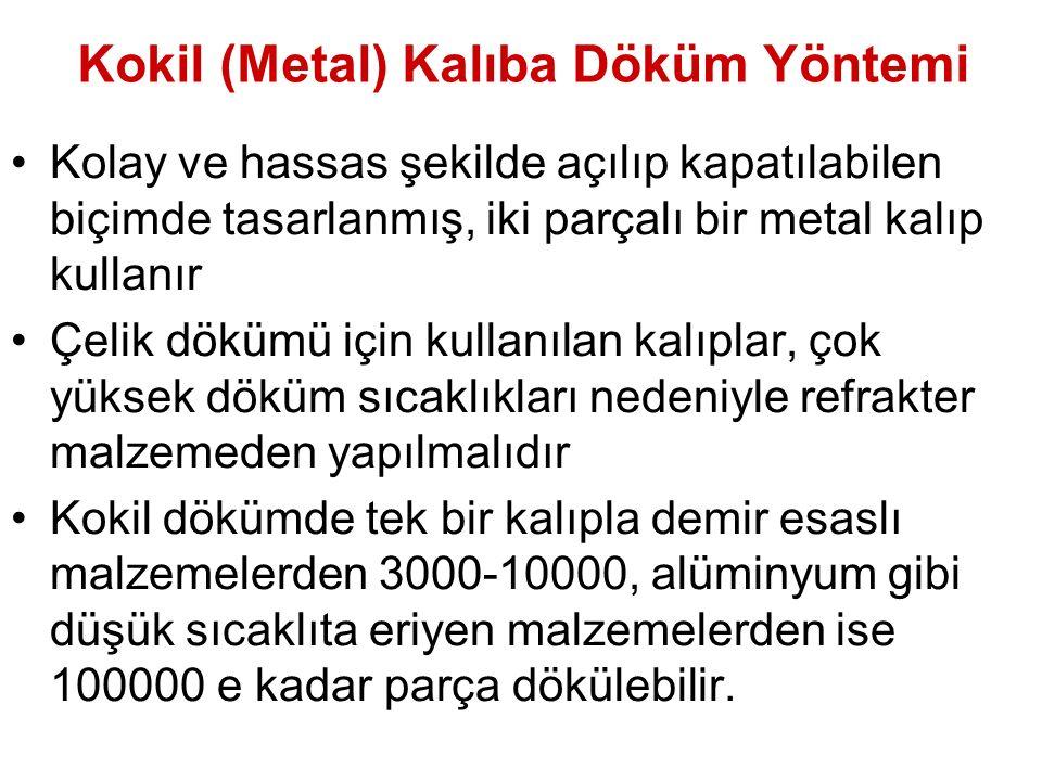 Kokil (Metal) Kalıba Döküm Yöntemi