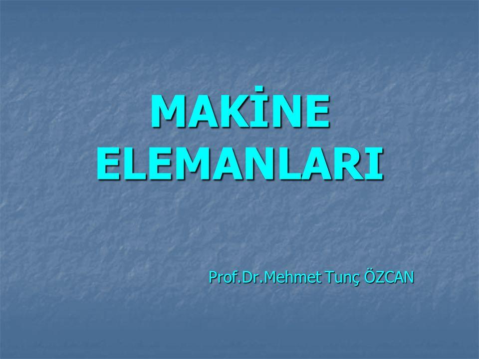 Prof.Dr.Mehmet Tunç ÖZCAN