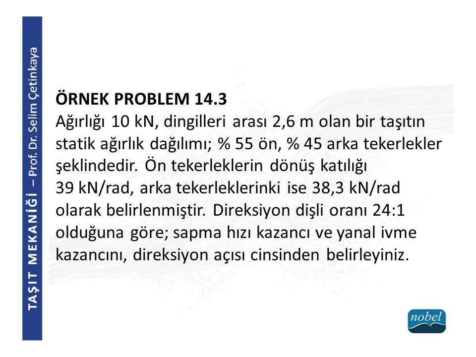 ÖRNEK PROBLEM 14.3
