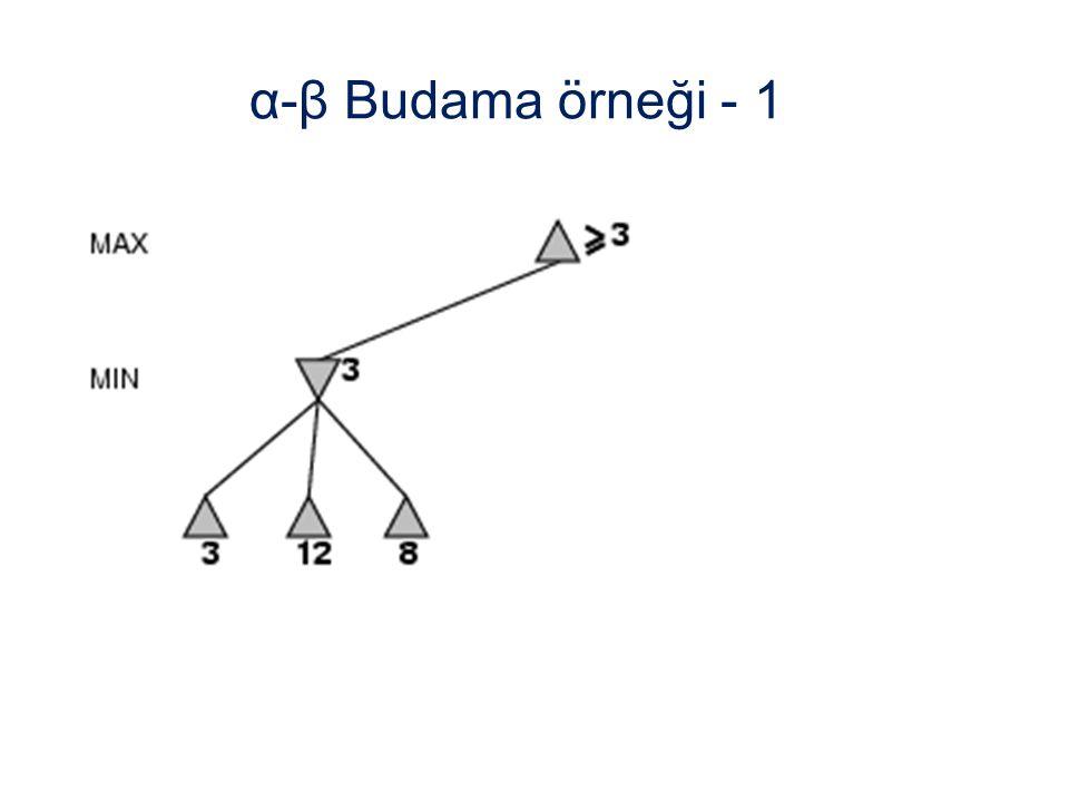 α-β Budama örneği - 1
