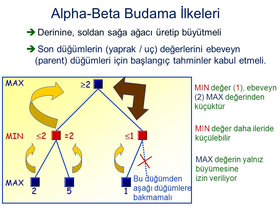 Alpha-Beta Budama İlkeleri