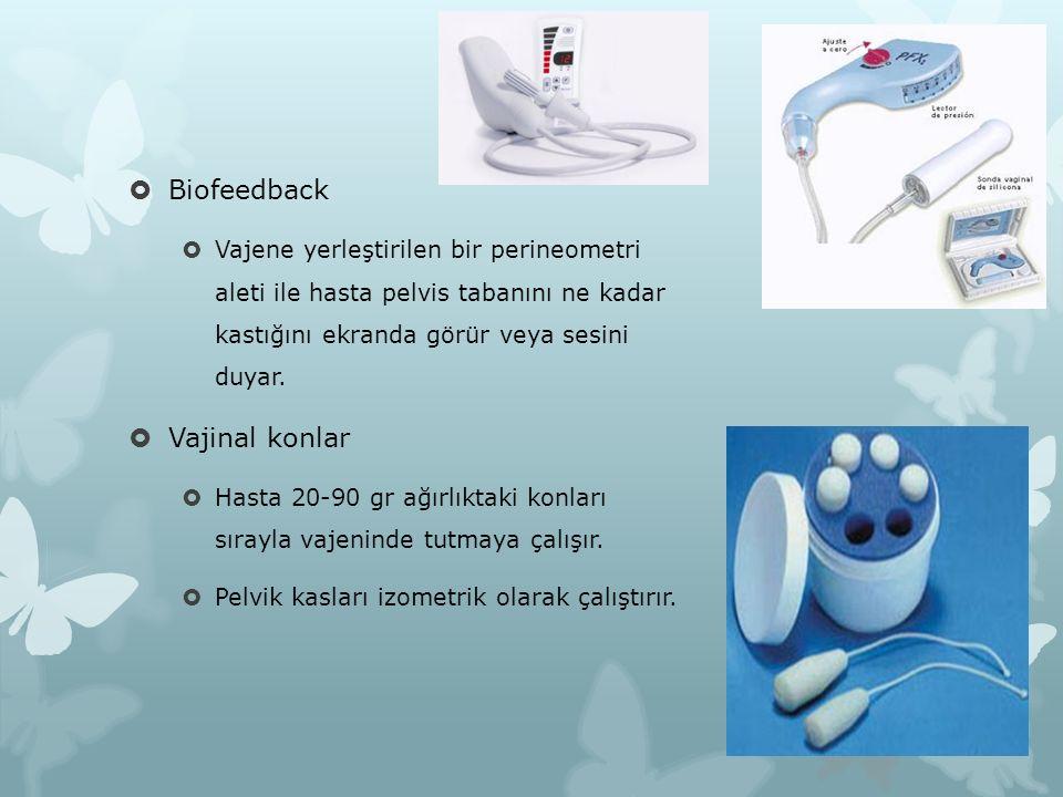 Biofeedback Vajinal konlar