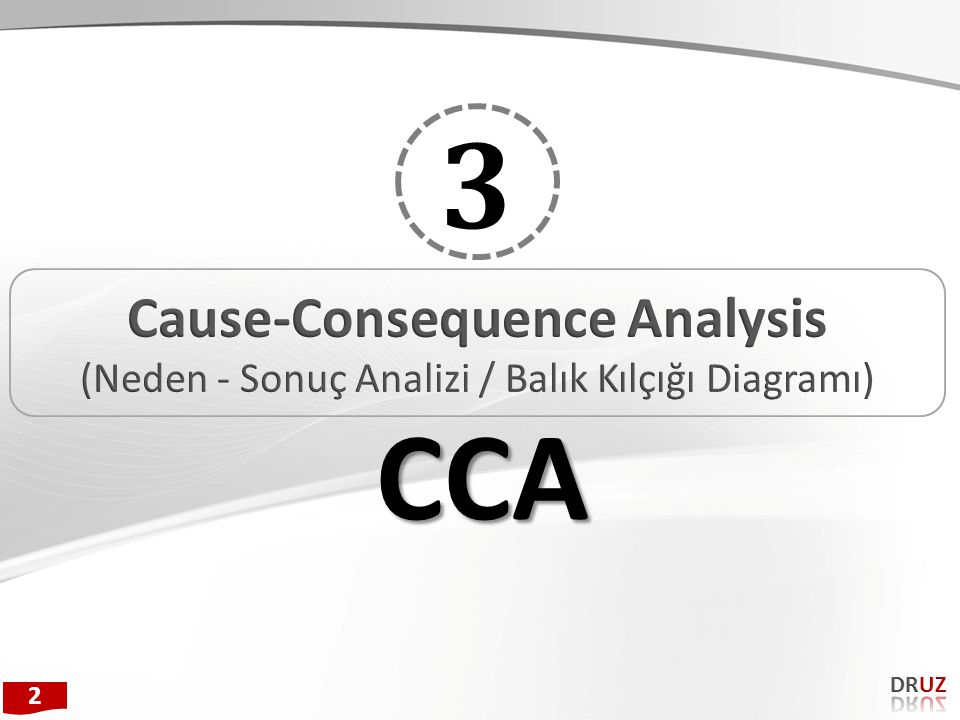 Cause-Consequence Analysis