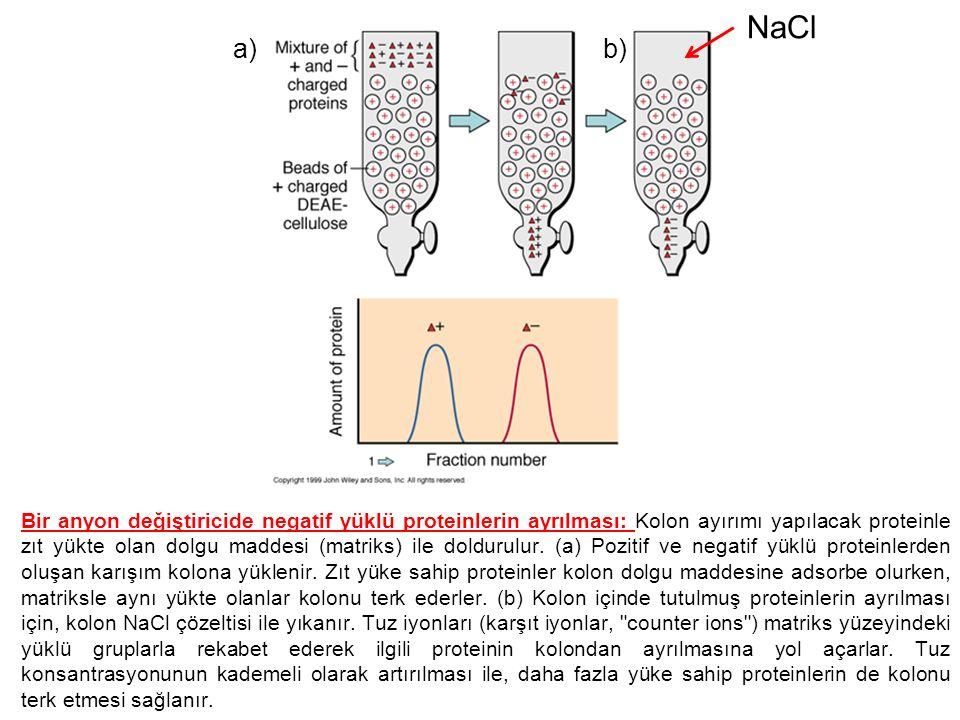 NaCl a) b)