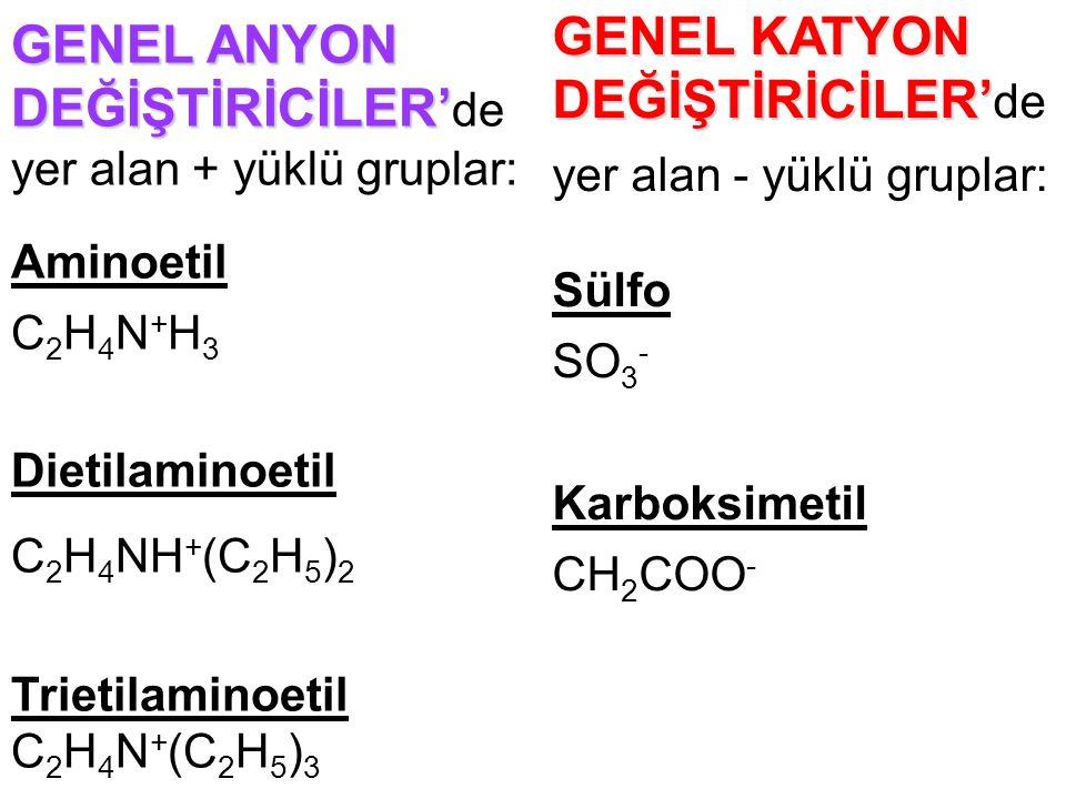 GENEL KATYON DEĞİŞTİRİCİLER'de