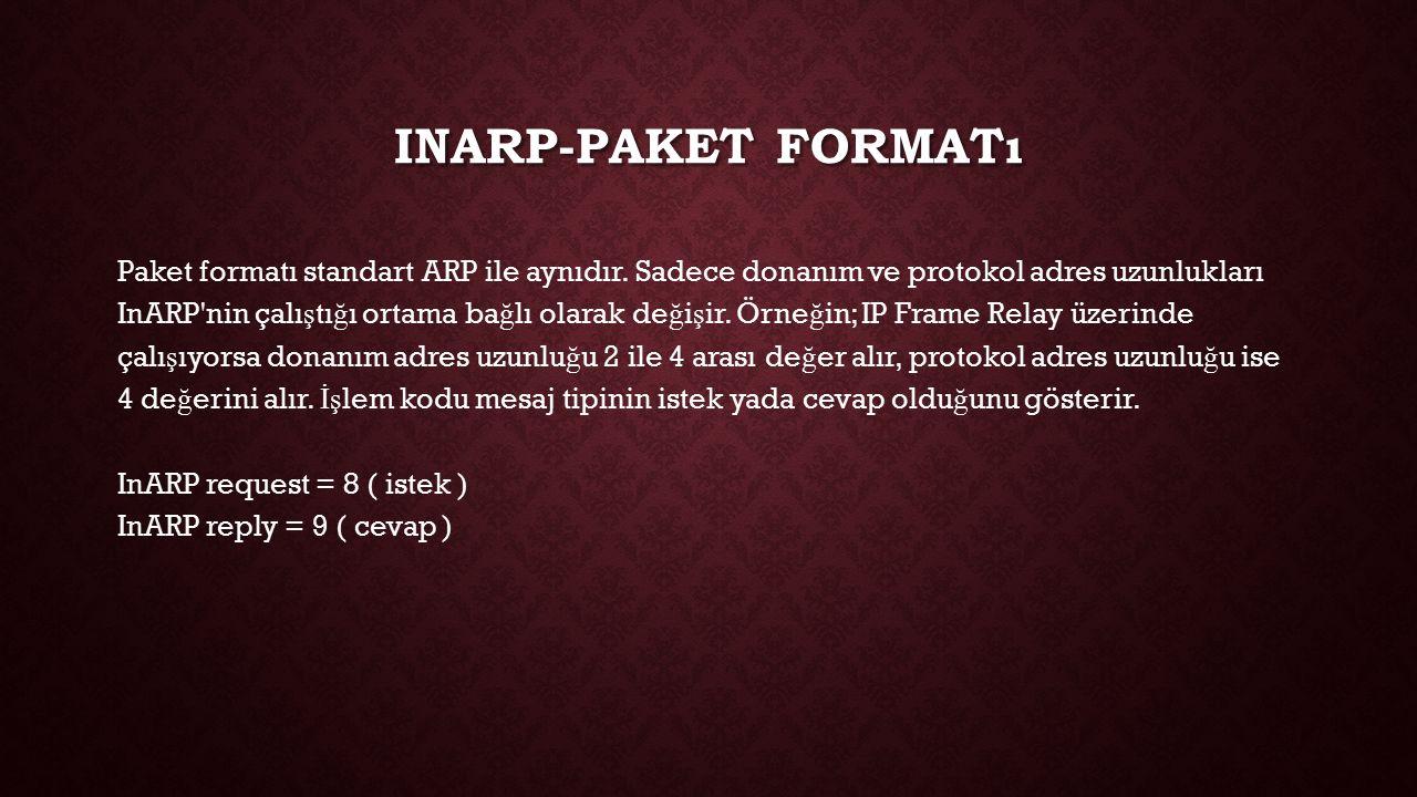 Inarp-paket formatı
