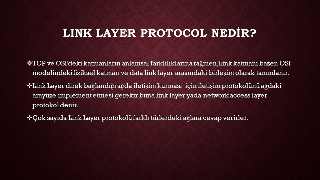 lInk layer ProtoCol neDİR