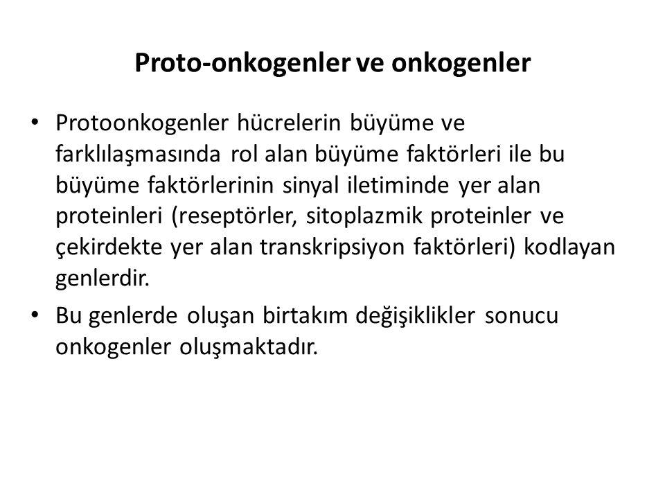 Proto-onkogenler ve onkogenler