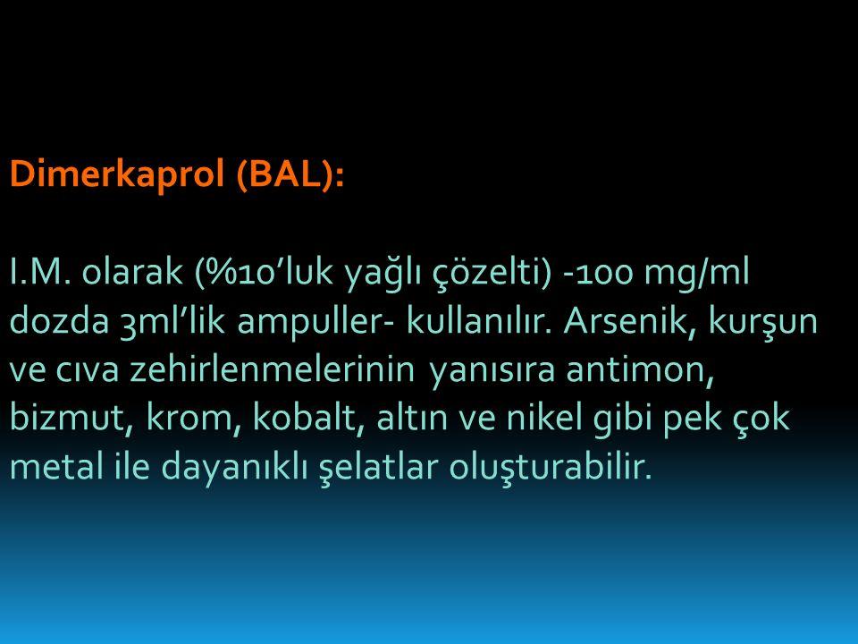 Dimerkaprol (BAL):
