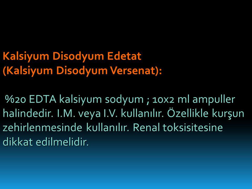 Kalsiyum Disodyum Edetat