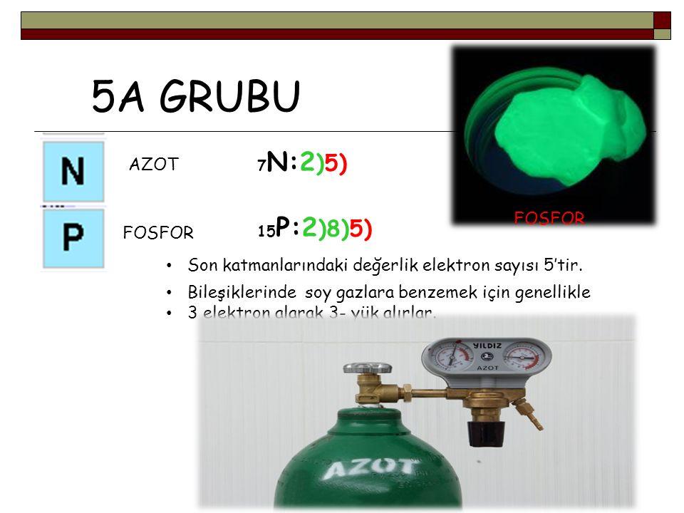 5A GRUBU AZOT FOSFOR FOSFOR