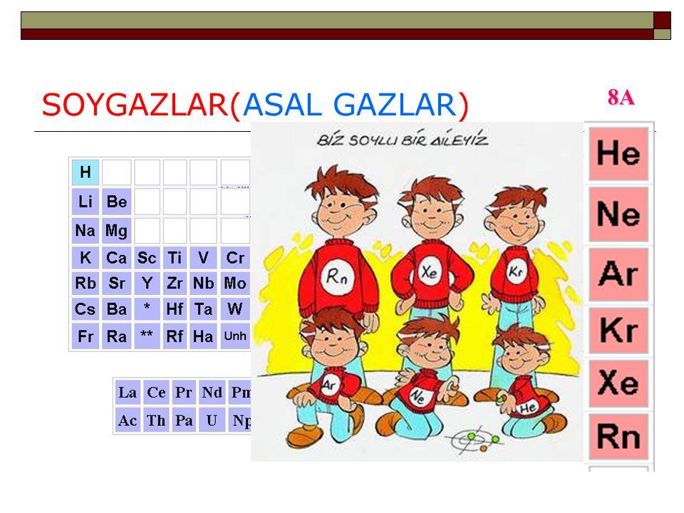 SOYGAZLAR(ASAL GAZLAR)