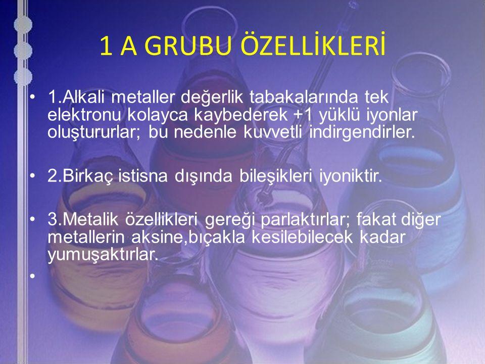 1 A GRUBU ÖZELLİKLERİ