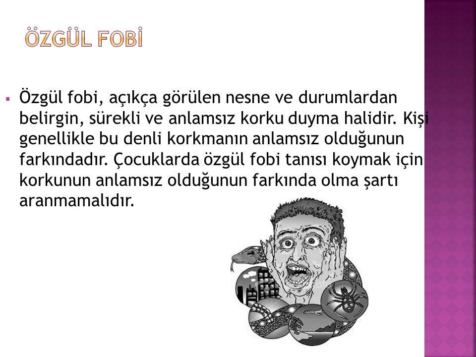 ÖZGÜL FOBİ