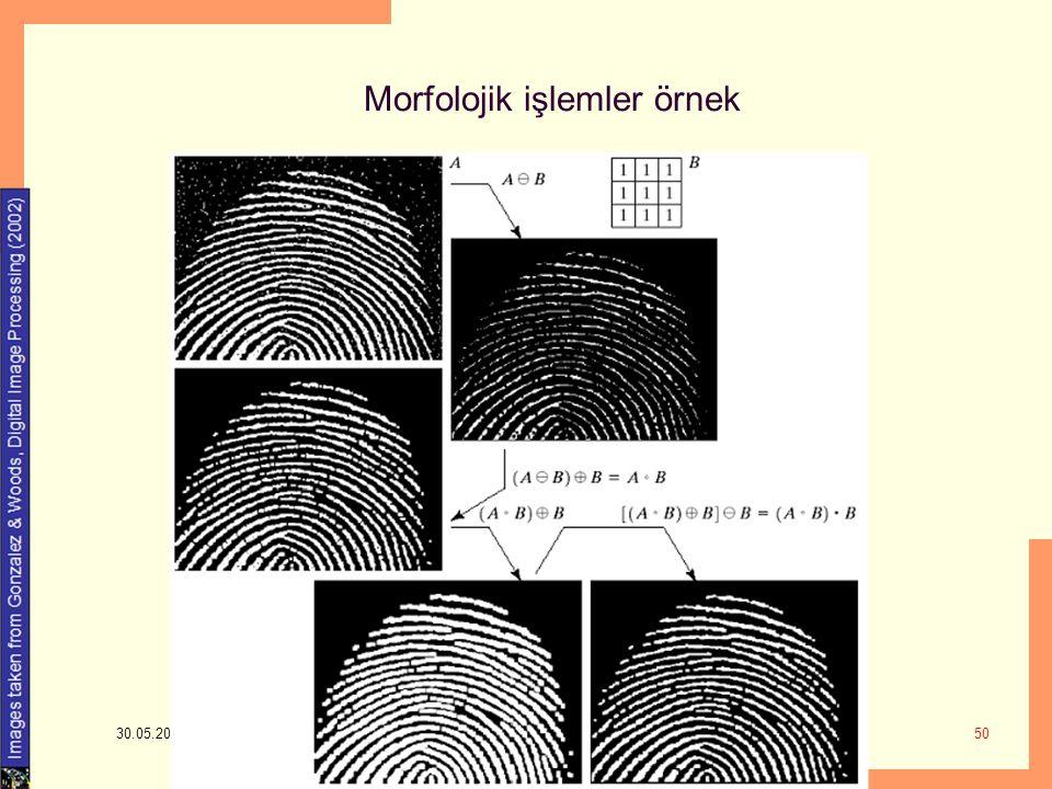 Morfolojik işlemler örnek