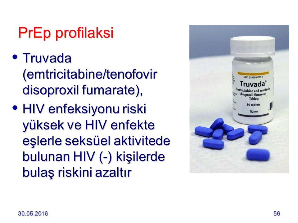PrEp profilaksi Truvada (emtricitabine/tenofovir disoproxil fumarate),
