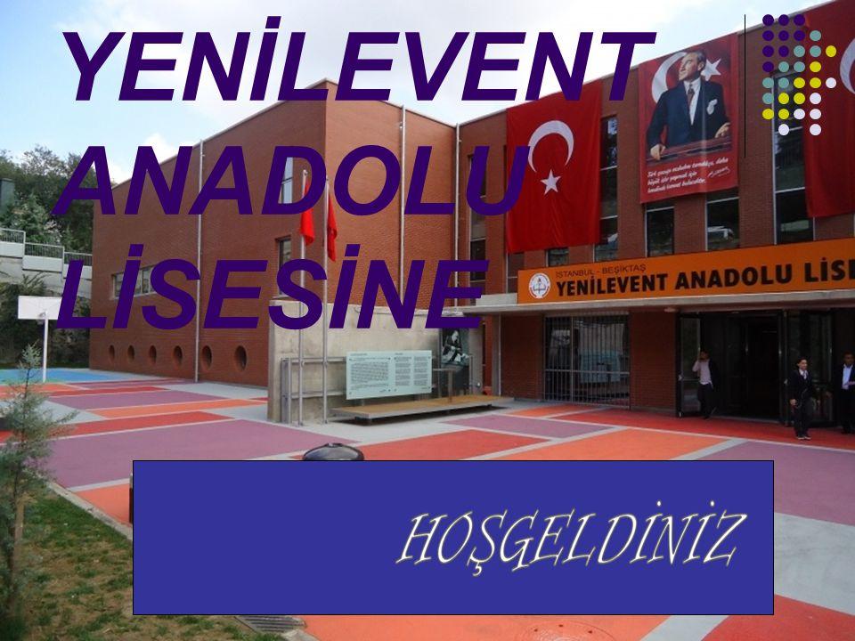 YENİLEVENT ANADOLU LİSESİNE