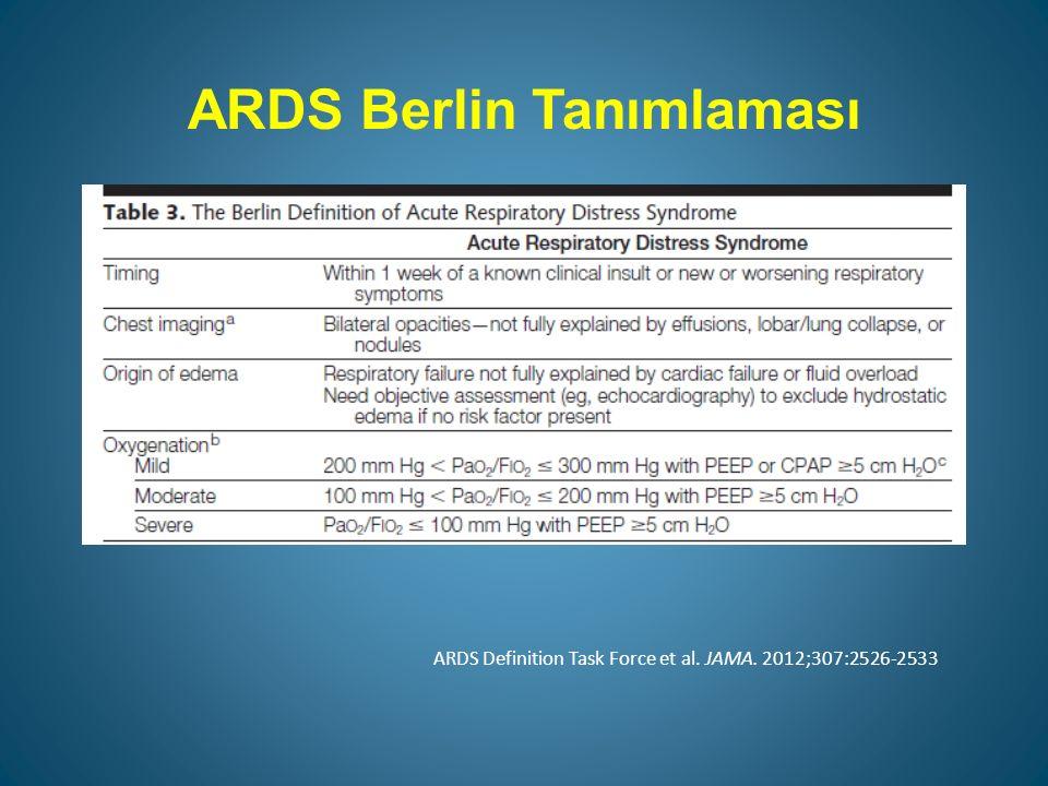 ARDS Berlin Tanımlaması