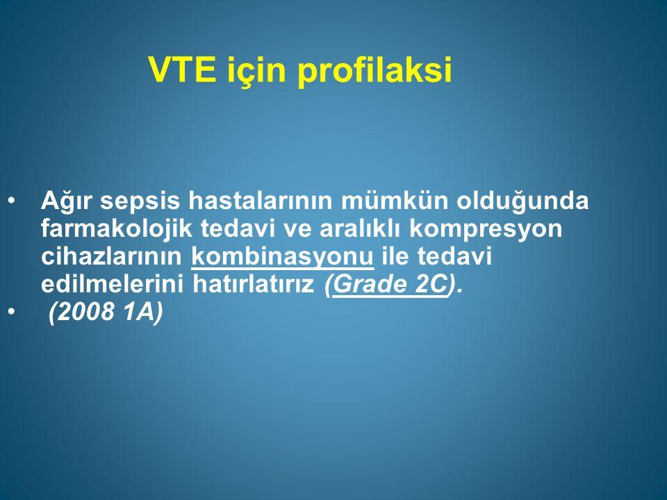 VTE için profilaksi
