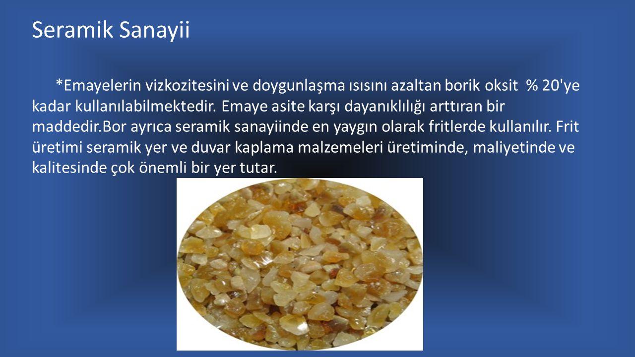 Seramik Sanayii