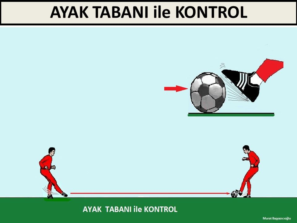AYAK TABANI ile KONTROL