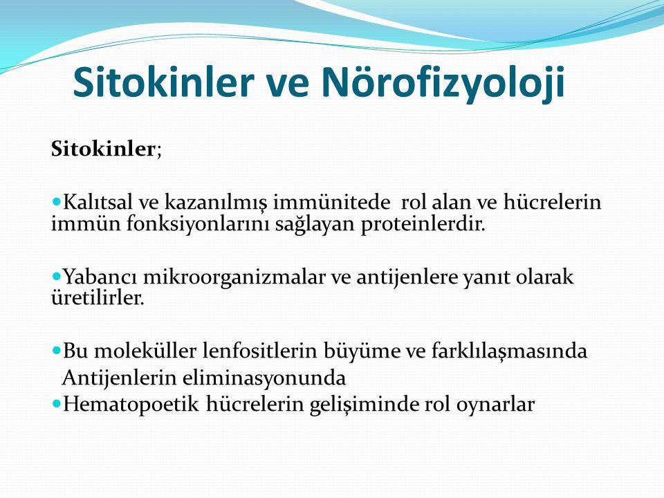 Sitokinler ve Nörofizyoloji