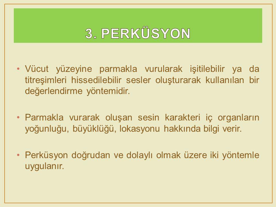3. PERKÜSYON