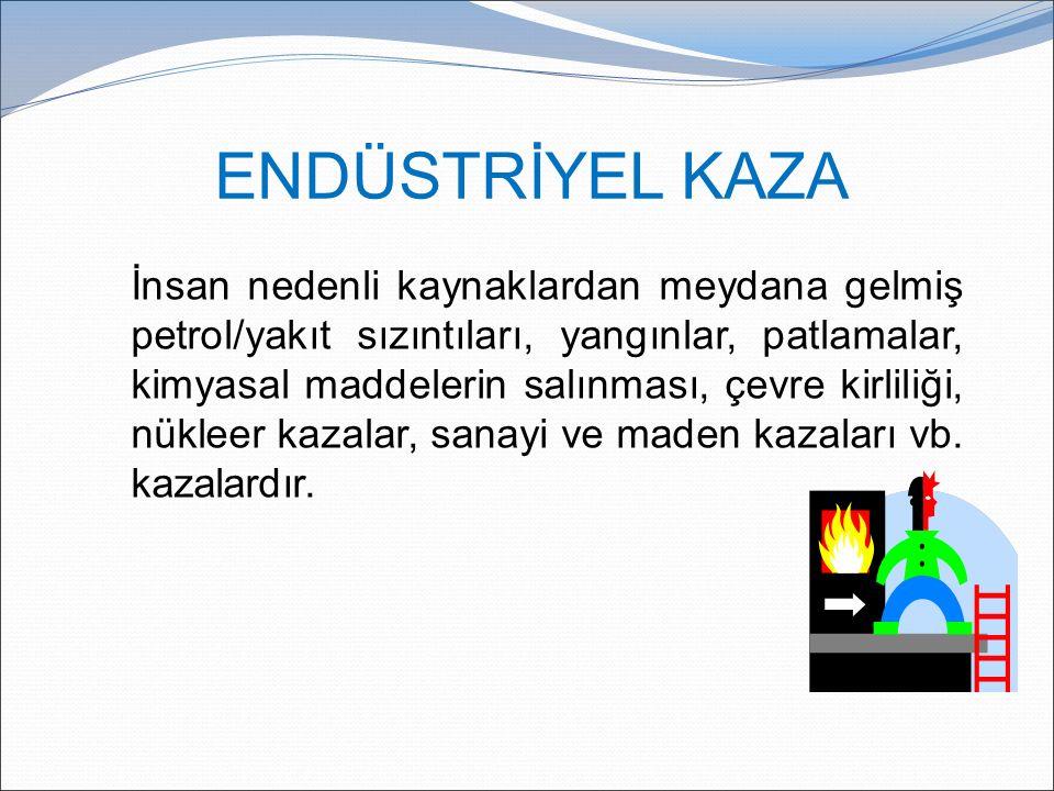 ENDÜSTRİYEL KAZA