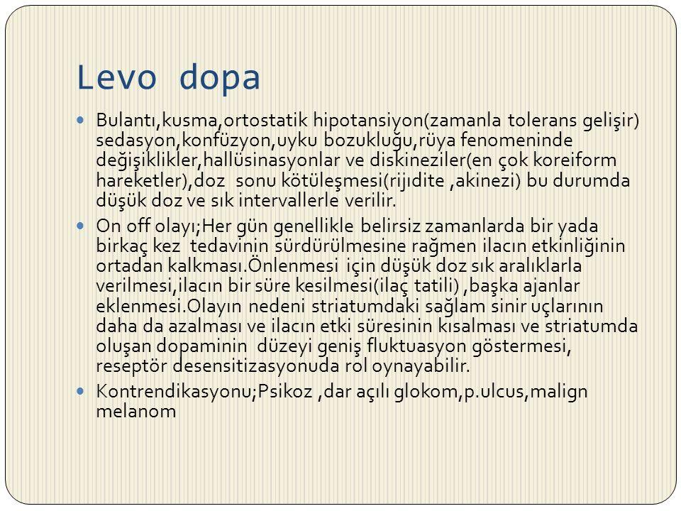 Levo dopa