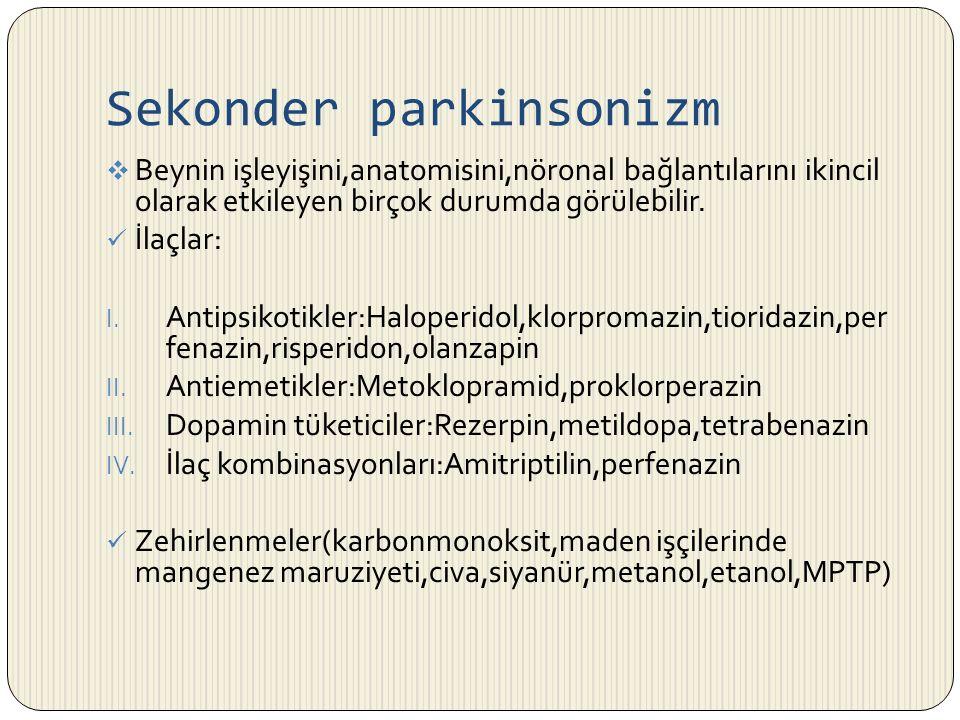 Sekonder parkinsonizm
