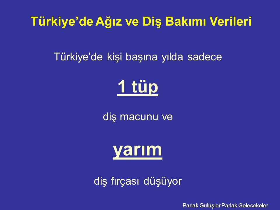 Türkiye'de Ağız ve Diş Bakımı Verileri
