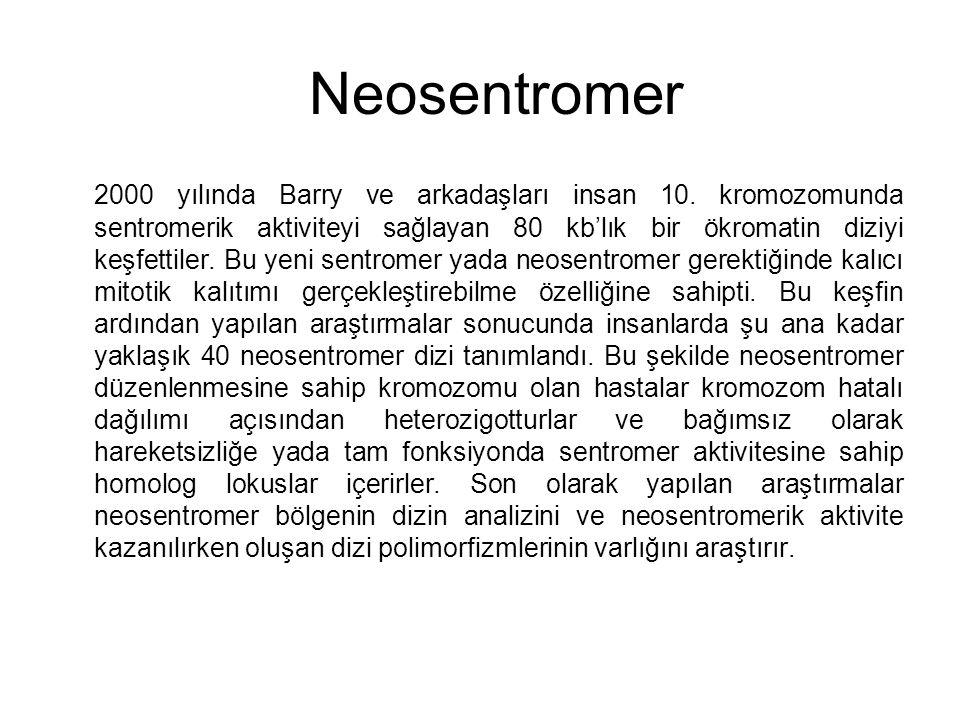 Neosentromer