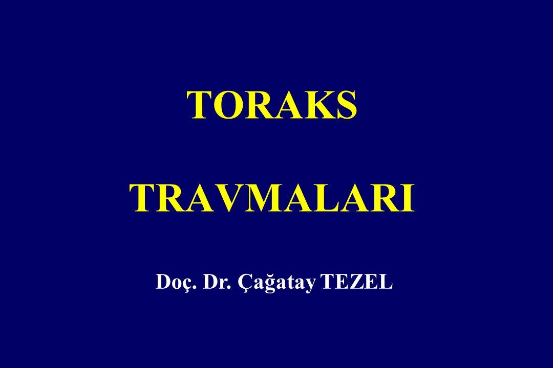 TORAKS TRAVMALARI Doç. Dr. Çağatay TEZEL