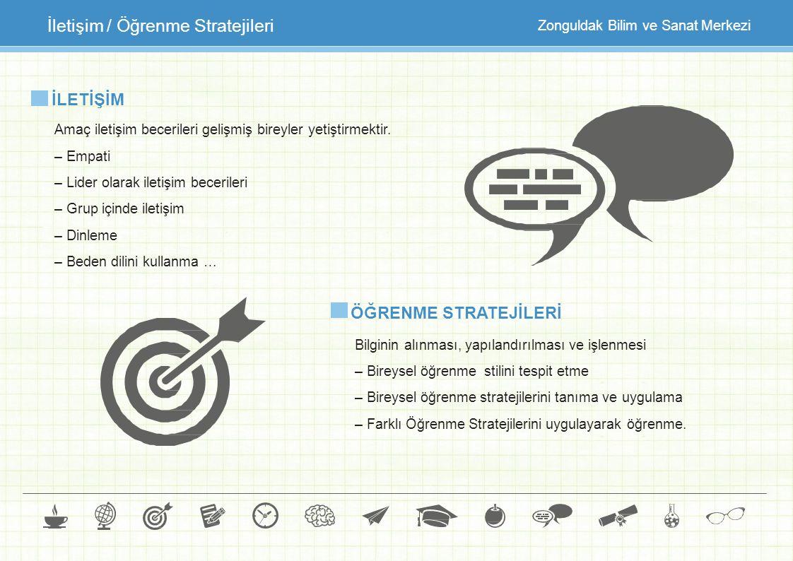 İletişim / Öğrenme Stratejileri