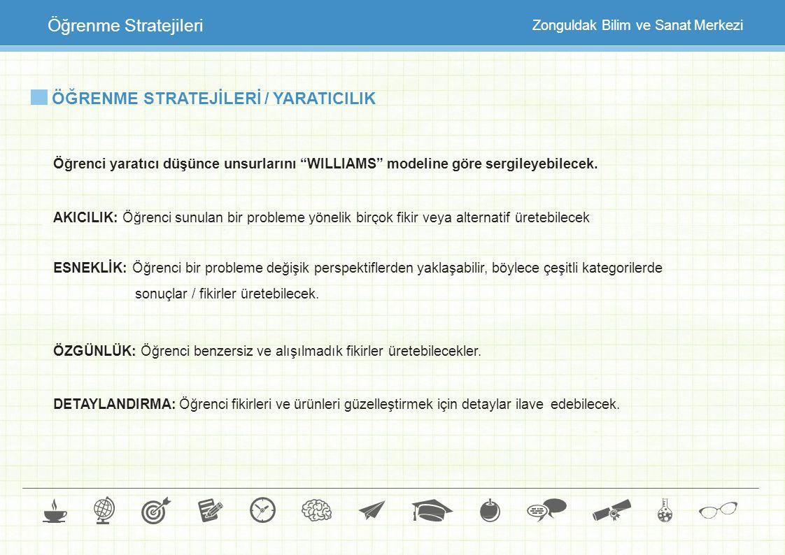 ÖĞRENME STRATEJİLERİ / YARATICILIK