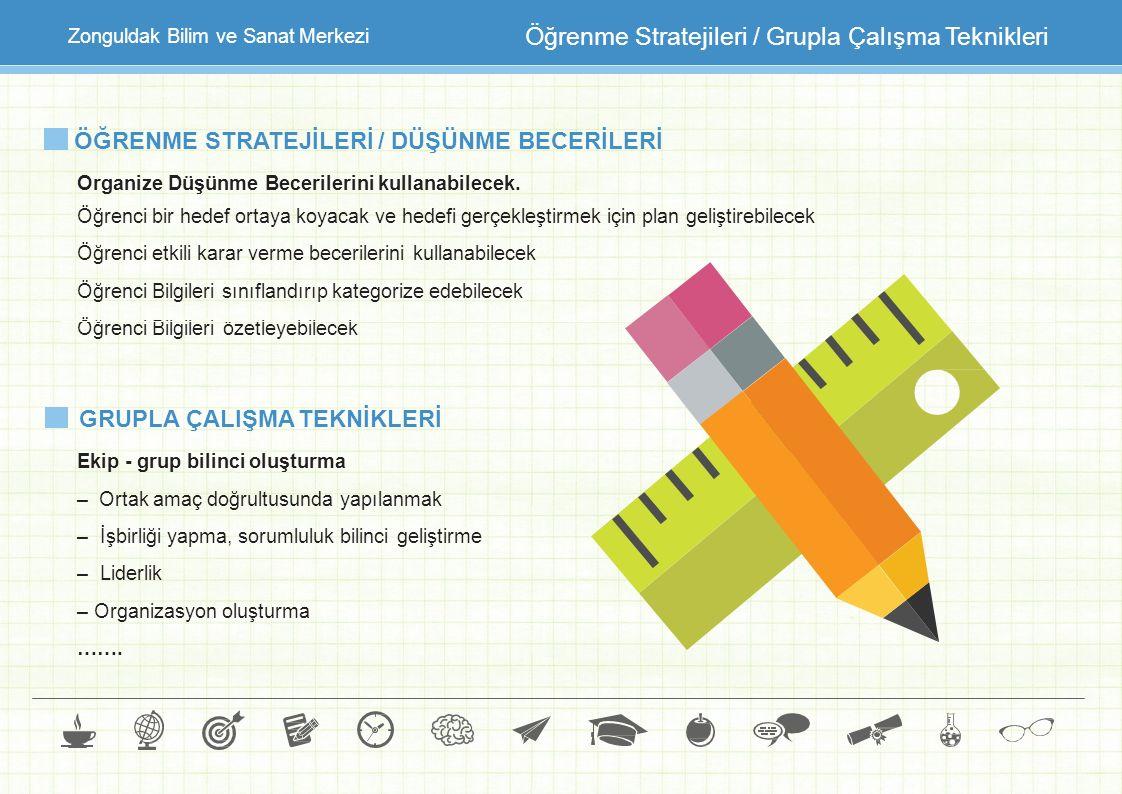 Öğrenme Stratejileri / Grupla Çalışma Teknikleri