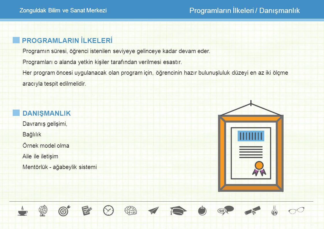 Programların İlkeleri / Danışmanlık