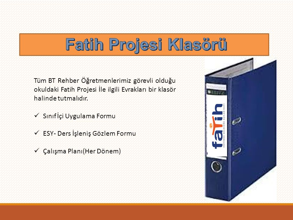 Fatih Projesi Klasörü Fatih Projesi Klasörü
